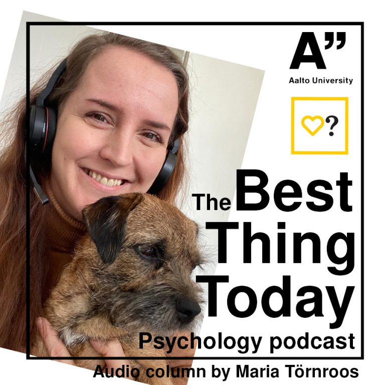 Maria Törnroos's Audio column 6/Research highlight: Impostor syndrome, belongingness and wellbeing in academia